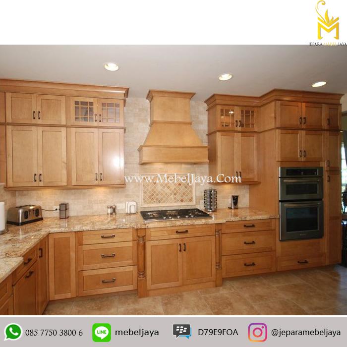 Kitchen Set Kayu Mahoni Kabinet Dapur Terbaru Cabinet