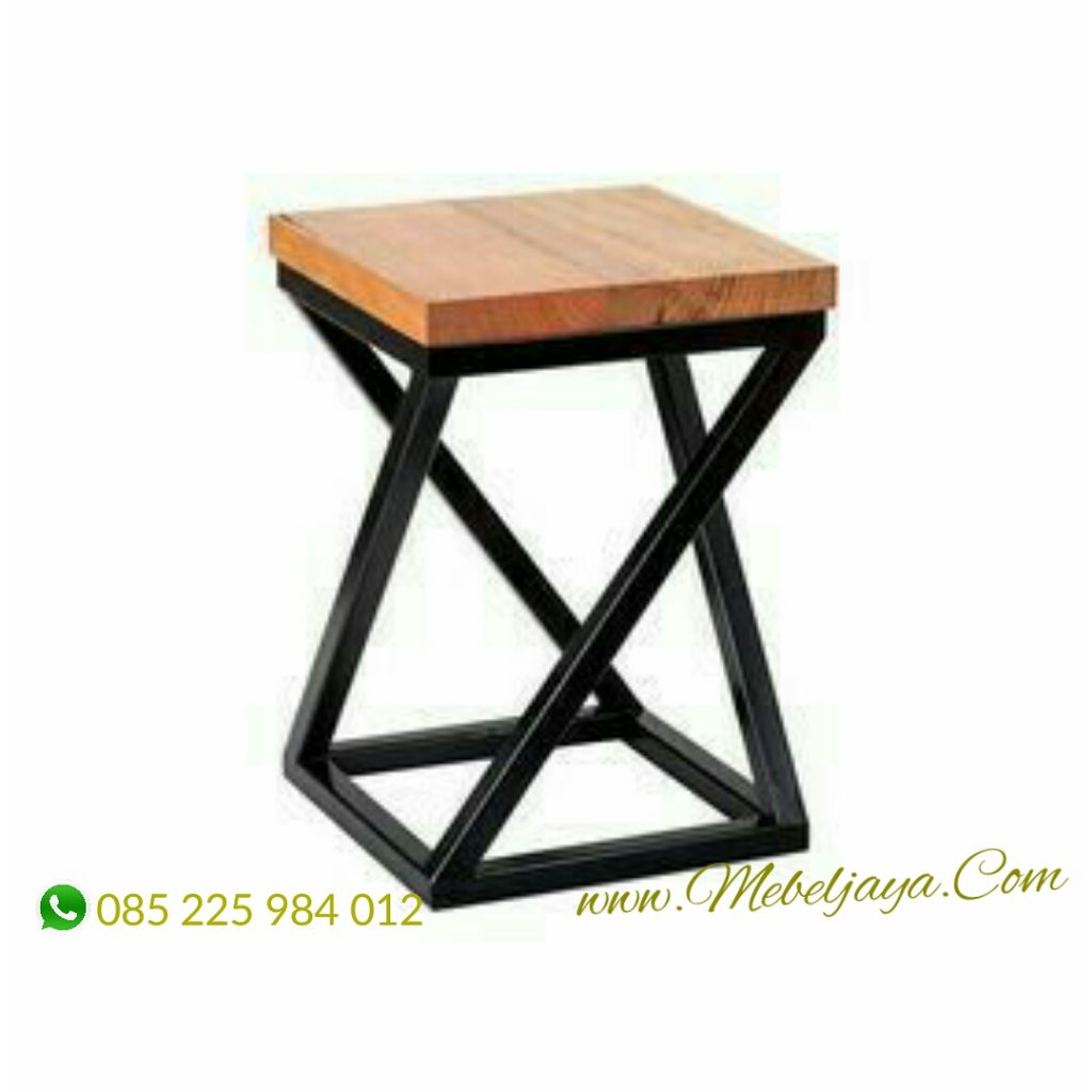 stool industrial cafe