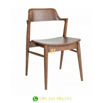 kursi cafe kayu