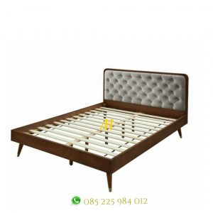 tempat tidur gaya retro