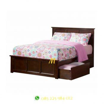 tempat tidur laci minimalis