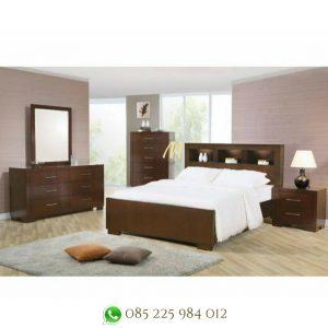 set kamar minimalis kayu jati terbaru