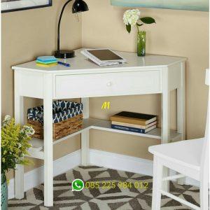 meja corner minimalis alex